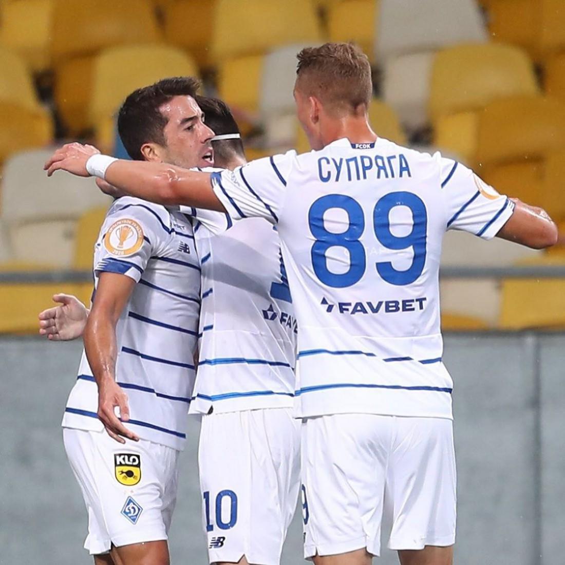 Динамо выиграло Суперкубок Украины