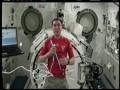 Глас с небес. Сборной России пожелали удачи на Евро-2012 из космоса