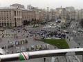 Перед матчем с Металлистом фанаты Легии устроили провокации в центре Киева