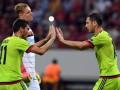 Байер - ЦСКА 2:2 Видео голов и обзор матча Лиги чемпионов
