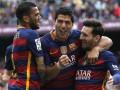 Барселона забила пять голов в дерби и остается на первом месте
