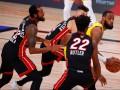 Лейкерс крупно обыграли Майами в первом матче финала НБА