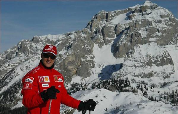 Михаэль Шумахер разбился в горах