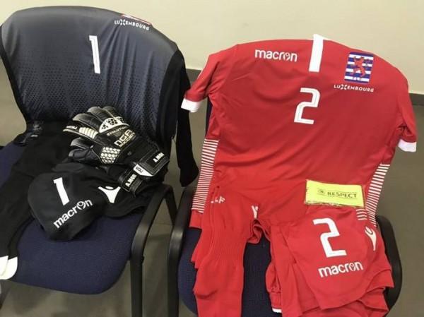 Форма, в которой сыграет сборная Люксембурга
