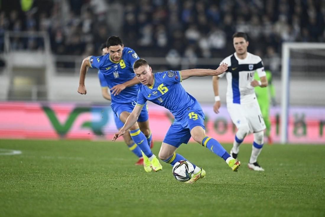 Сборная Украины обыграла Финляндию