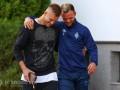 Хацкевич: Ярмоленко сдержался и не заплакал, прощаясь с командой