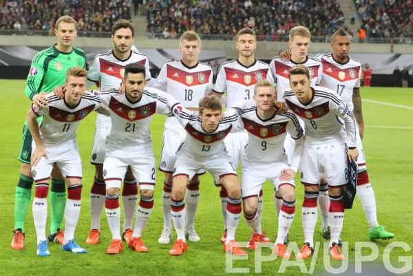 Участник Евро-2016 - сборная Германии