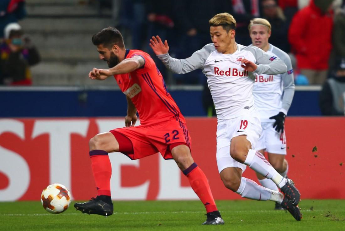 Ред Булл Зальцбург вырвал у Реал Сосьедада путевку в 1/8 финала ЛЕ