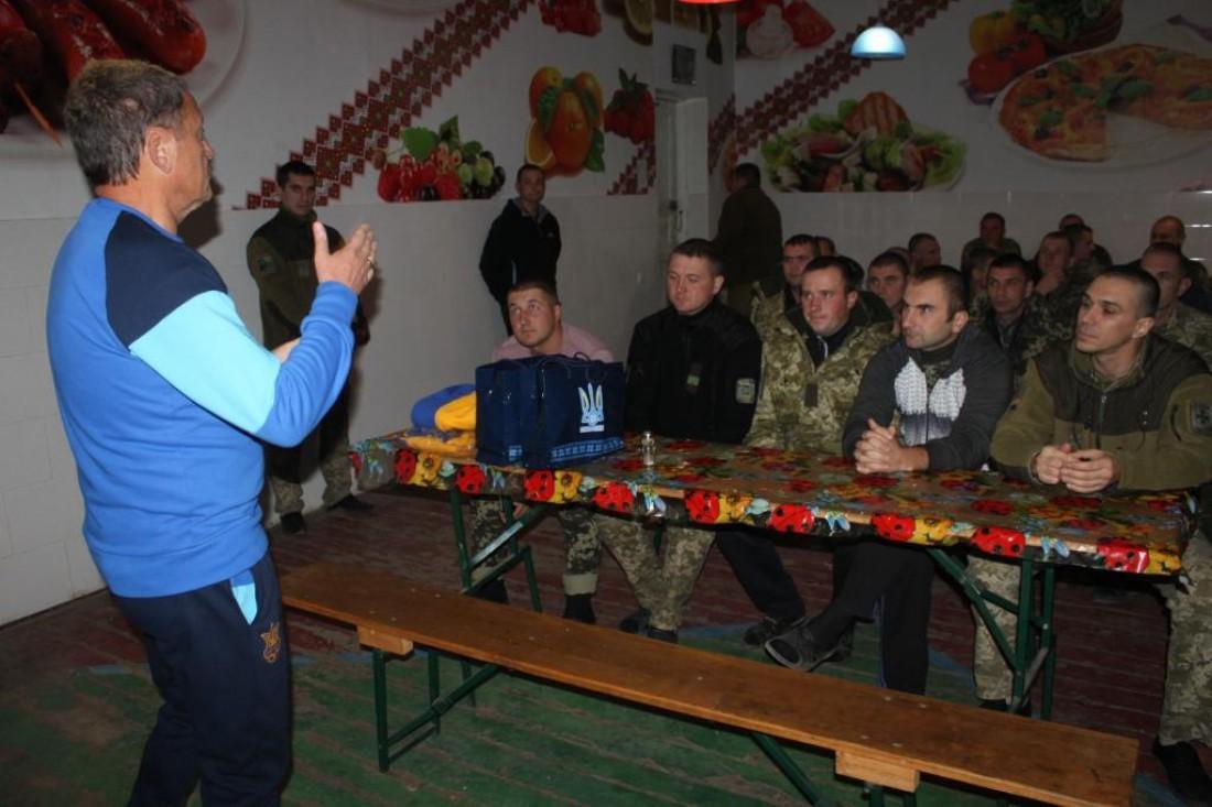 Мирон Маркевич посетил пограничников в зоне АТО