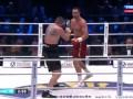 Вах роняет Кличко на пол. Последний раунд боя