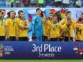 Бельгия впервые в своей истории выиграла медаль ЧМ по футболу