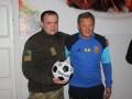 Маркевич приехал в гости к пограничникам в АТО