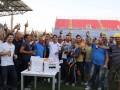 Игроки итальянского клуба выпили пиво вместе со строителями стадиона