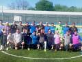 Мораес и Усик посетили тренировку сборной Украины среди ветеранов