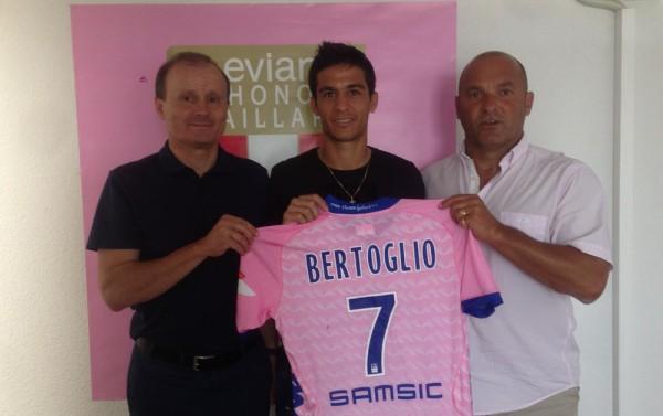 Бертольо будет играть под 7м номером