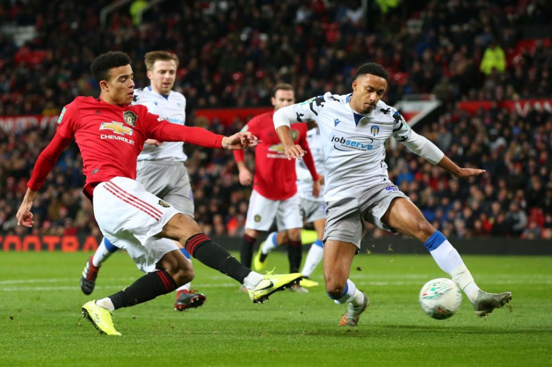 Манчестер Юнайтед - Колчестер: видео голов