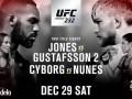 Джонc – Густафссон: видео онлайн трансляция боя UFC 232