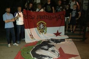 Фанаты Динамо напали на болельщиков Славии