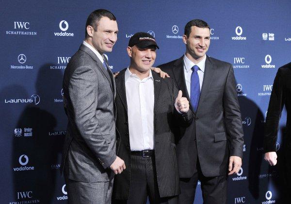 Железное трио: Виталий Кличко - Аксель Шульц - Владимир Кличко