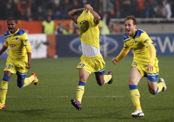 АПОЕЛ стал первым кипрским клубом, преодолевшим стадию группового этапа
