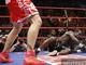 Уже в первом раунде Клотти побывал в нокдауне, однако в дальнейшем выглядел очень достойно