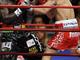 Мигель Котто хорошо двигался и боксировал, а Клотти перекрывался и шел вперед, пытаясь достать соперника мощным ударом