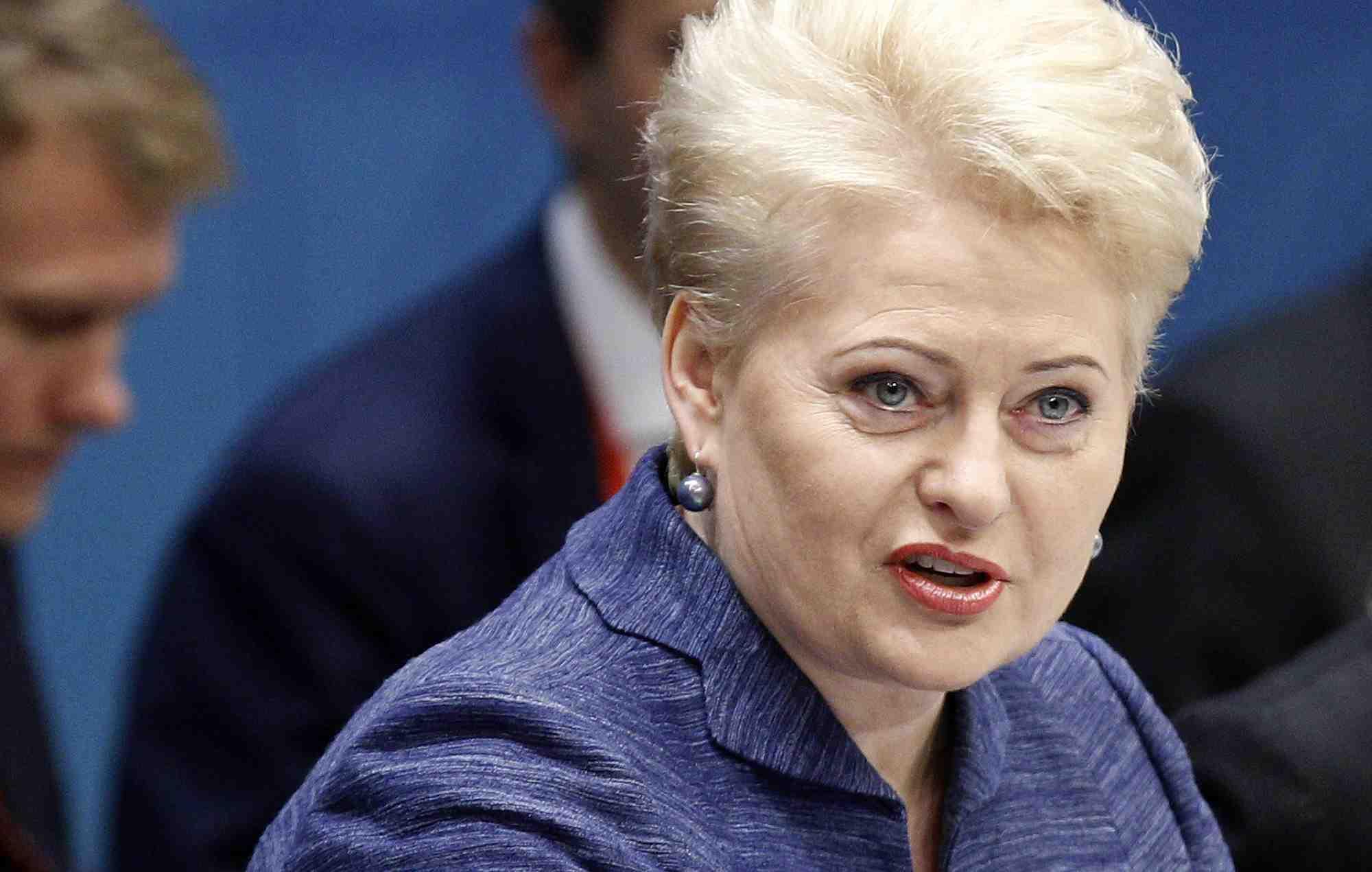 Даля Грибаускайте решила бойкотировать Олимпиаду в Сочи