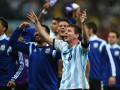 Небесно-голубое счастье Месси: Лучшие фото матча Аргентина - Голландия