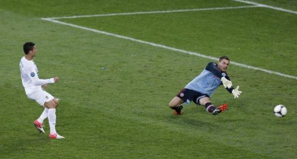Роналдо продолжает упускать моменты
