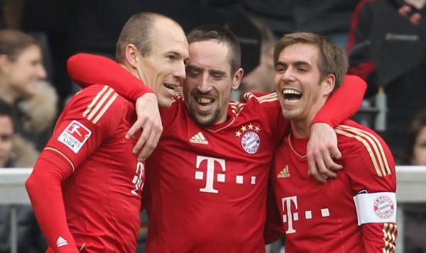 Бавария зарабатывает миллионы на домашних играх в Лиге чемпионов