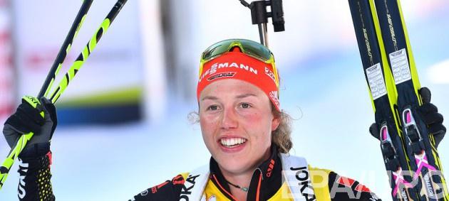 Дальмайер выиграла масс-старт на чемпионате мира по биатлону, Джима - шестая