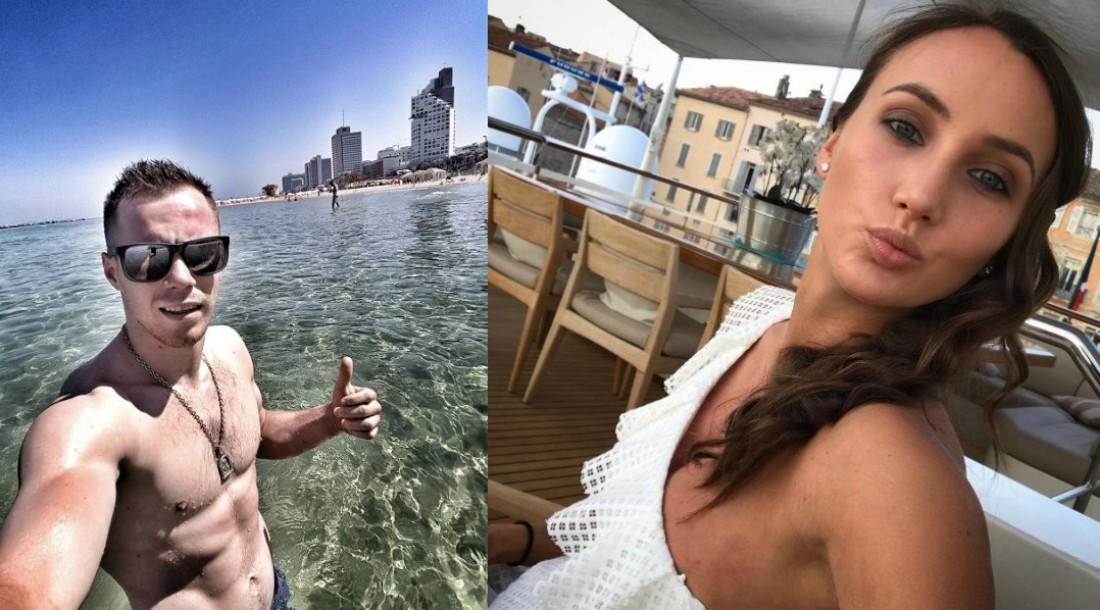 Верняев на отдыхе и поцелуй Ризатдиновой
