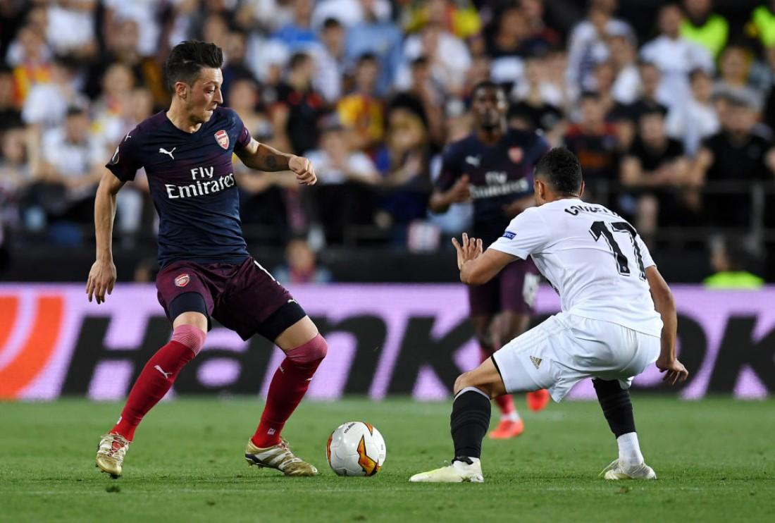 Валенсия - Арсенал: видео голов
