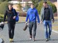 Как футболисты в тренировочном лагере сборной Украины собирались