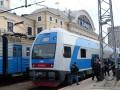 Первый двухэтажный поезд Skoda прибыл в Харьков
