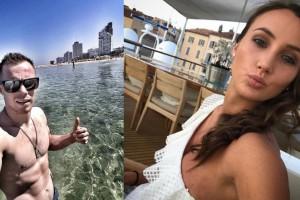 Жаркий привет от Верняева и поцелуй от Ризатдиновой: лучшие инстафото недели