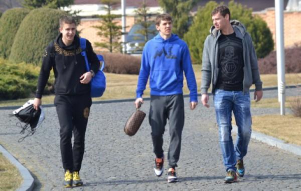Игроки сборной Украины прибыли в тренировочный лагерь национальной команды