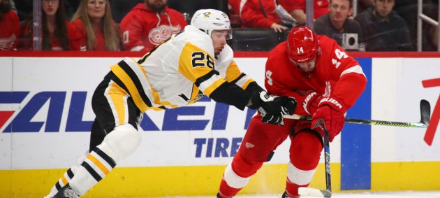 НХЛ: Тампа-Бэй разгромила Виннипег, Детройт в овертайме проиграл Питтсбургу