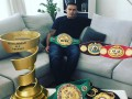 Усик и Ломаченко-старший стали лучшими боксером и тренером года по версии The Ring