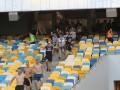 Заявление НСК Олимпийский: Российских флагов на матче Днепр - Копенгаген не было