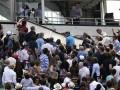 На зрителей Roland Garros упала часть табло