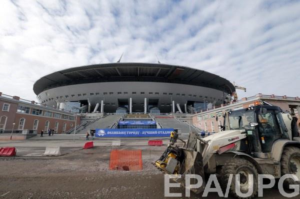 На строящемся стадионе Зенита погиб рабочий