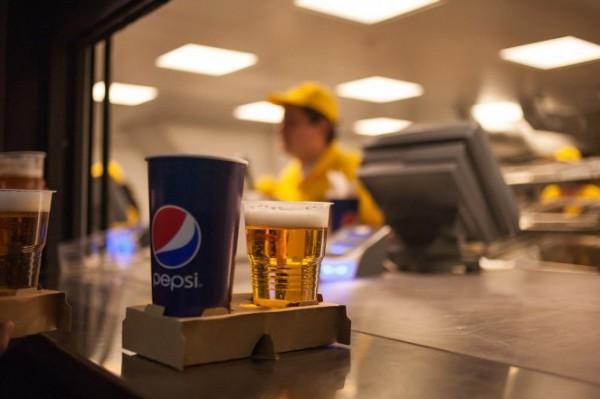 Пиво на Олимпийском из отходов?