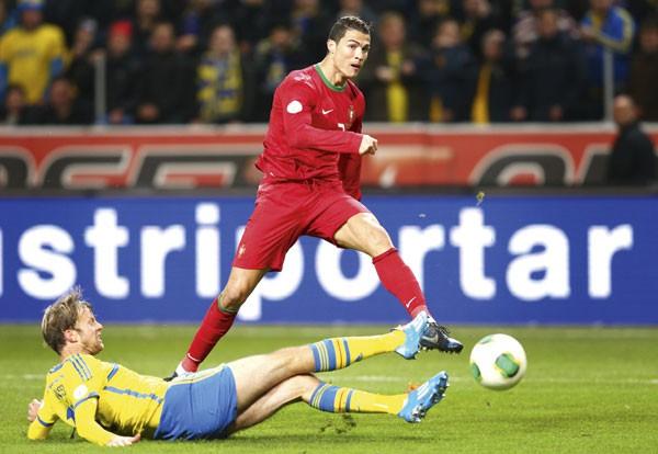 Роналду признан лучшим игроком года