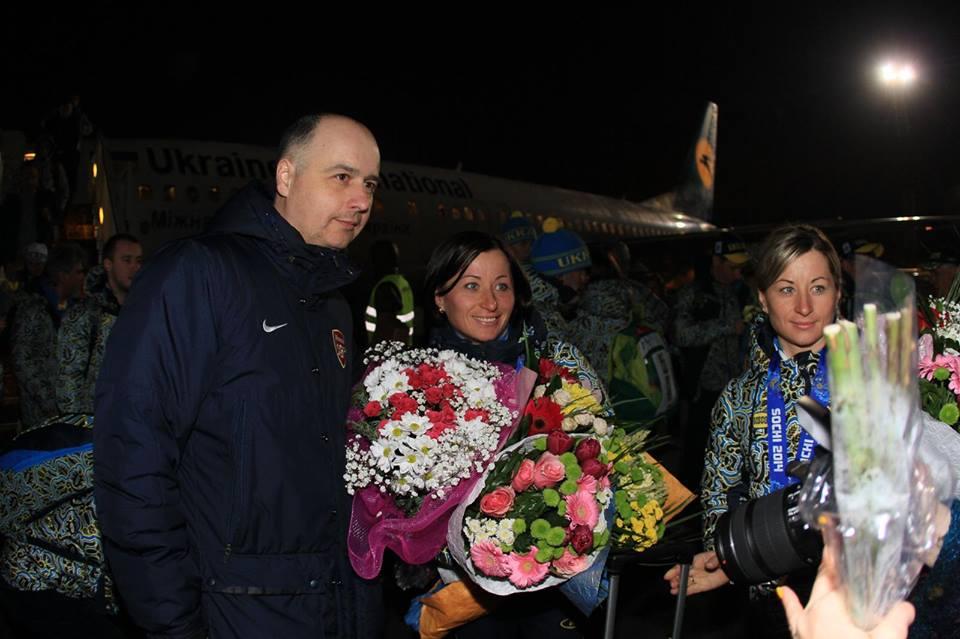 Олимпийская сборная Украины вернулась в Киев
