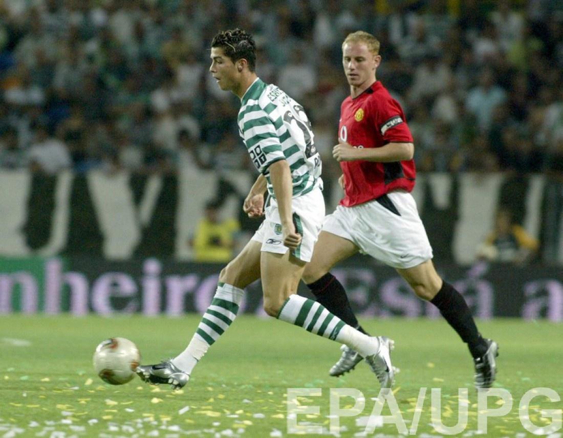 Криштиану Роналду в лиссабонском Спортинге