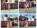 Отпуск футболистов: Зозуля и Кравченко на Гаваях сыграли в баскетбол