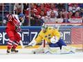 ЧМ по хоккею: Сборная Чехии одержала волевую победу над командой Швеции