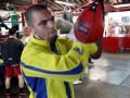 У украинского боксера родился сын