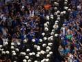 На матче Шальке - ПАОК состоялись столкновения фанатов с полицией (ВИДЕО)